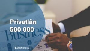 Privatlån 500 000