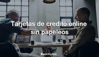 Tarjetas de credito online sin papeleos