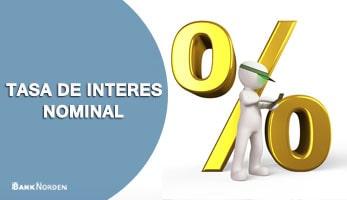 Tasa de interes nominal