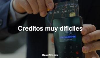 Creditos muy dificiles