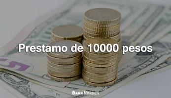 Prestamo de 10000 pesos