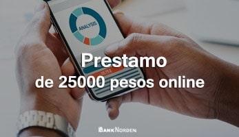 Prestamo de 25000 pesos online
