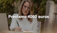 Prestamo 4000 euros