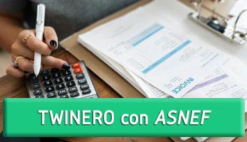 TWINERO con ASNEF