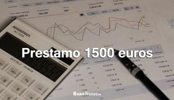 prestamo 1500 euros