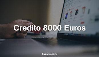 credito 8000 euros
