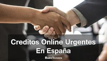 Creditos online urgentes en España