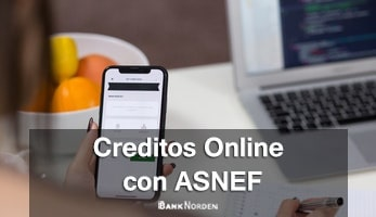 Online credits with asnef