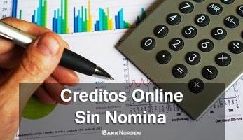 creditos online sin nomina