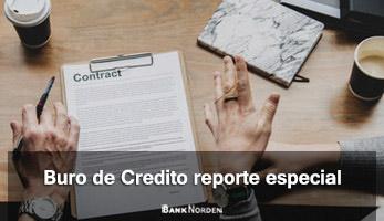 Buro de Credito reporte especial