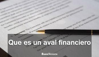 Que es un aval financiero