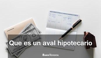 Que es un aval hipotecario