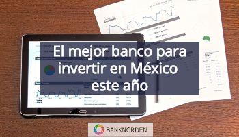 mejor banco para invertir
